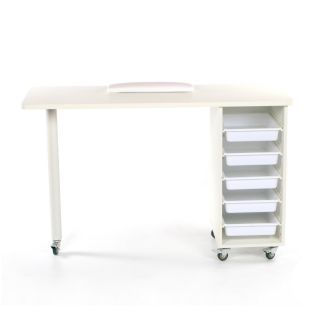 Metro Manicure Table White