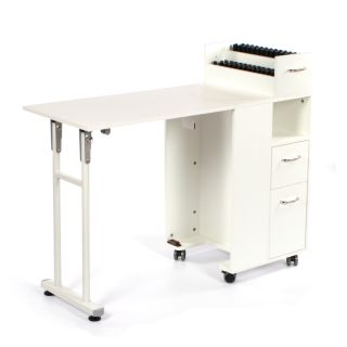 Complete Manicure Table White