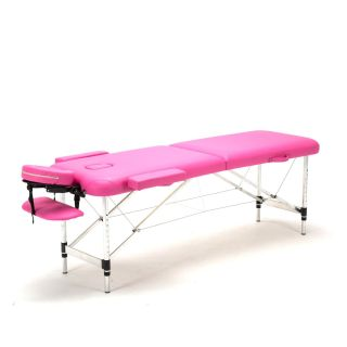 Darwin Portable Massage Table - Pink