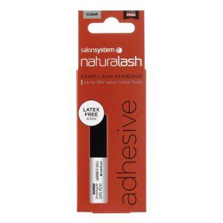 Salon System Naturalash Strip Lash Adhesive Clear Latex Free 4.5ml