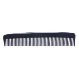 Sibel Duoline Cellulose Acetate Black Comb
