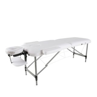Darwin Portable Massage Table - White