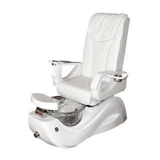 Elite Pedicure Chair - White - Carton 1