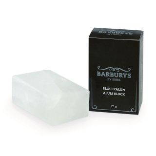 Barburys Alum Block 75g Aftershave Soap