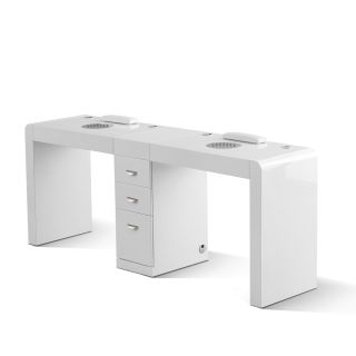 Infinity Double Manicure Table