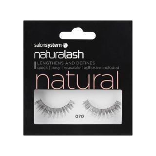 Salon System Naturalash Strip Lashes - 070 Black (Natural)