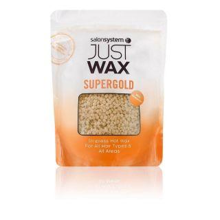 Salon System Just Wax SuperGold Stripless Hot Wax Beads 700g