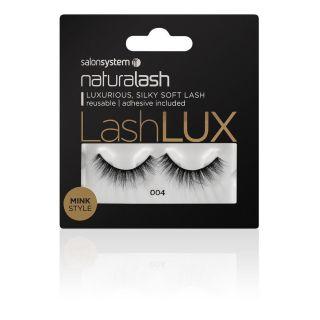 Salon System Naturalash Strip Lashes LashLux Mink Style 004