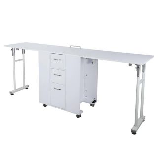 Complete - Double Nail Station - White