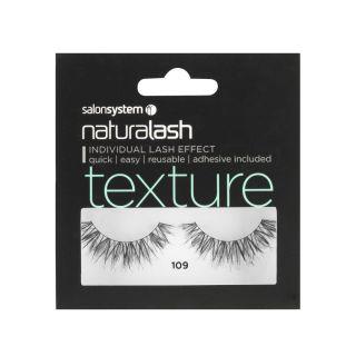 Salon System Naturalash Strip Lashes - 109 Black (Texture)