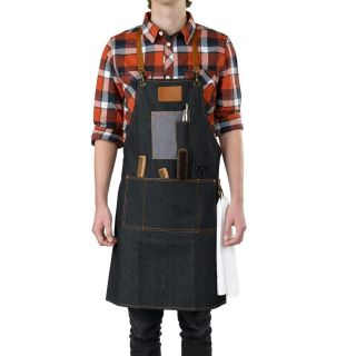 Barburys Barbering Macho Denim Apron