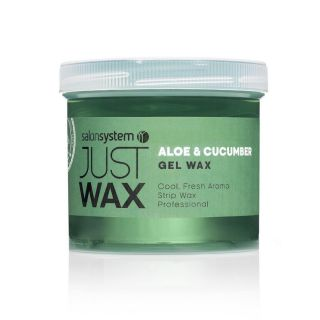 Salon System Just Wax Aloe & Cucumber Gel Wax 450G