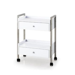 Chic Salon Trolley White
