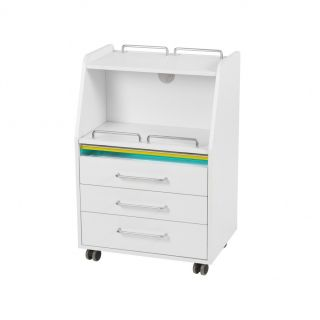 Soho Salon Trolley White